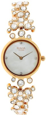 Titan NH95032WM01 Raga Analog Watch - For Women
