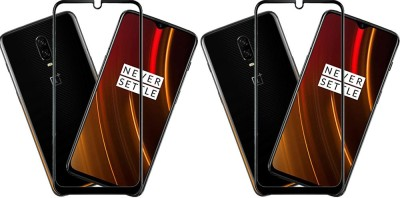 KARTRAY Edge To Edge Tempered Glass for OnePlus 6T, OnePlus 7(Pack of 2)