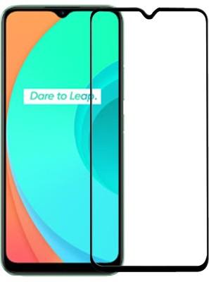 iZAP Edge To Edge Tempered Glass for Realme C11, Realme C12, Realme C15, Realme C3, Realme Narzo 20A(Pack of 1)