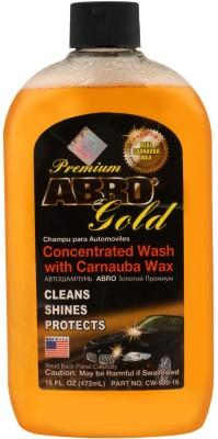 ABRO Concentrated Car Wash with Carnauba Wax Shampoo Cleans, Shines   Protects SUV Car Washing Liquid 472 ml ABRO Vehicle Washing Liquid