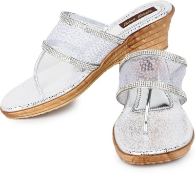 STAR STYLE Women Silver Wedges STAR STYLE Wedges