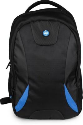 HP Hp_BlacknBlue_25 26 L Backpack Blue, Black HP Backpacks