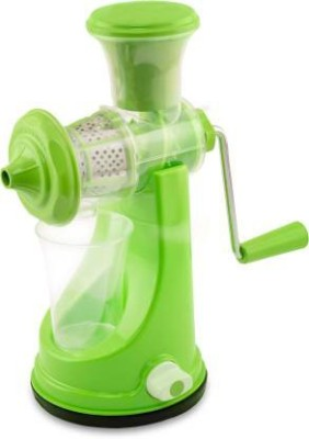 3D Metro Plastic Hand Juicer(Green Pack of 1)