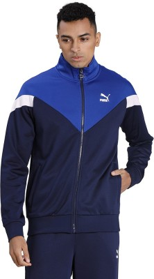 Puma Full Sleeve Colorblock Men Jacket
