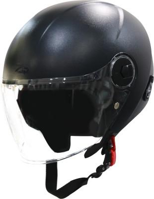 Steelbird SBH-20 Zip Motorbike Helmet(Black)