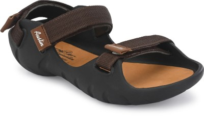 AUSTINJUSTIN Men Brown Sandals
