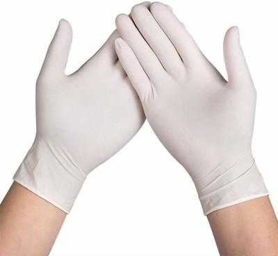 V SURZ HIGH QUALITY LATEX EXAMINATION GLOVES Latex Examination Gloves(Pack of 100)