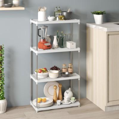 Flipkart Perfect Homes Studio Metal Kitchen Cabinet(Finish Color - White)