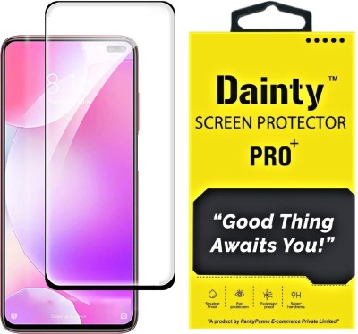 Dainty Edge To Edge Tempered Glass for Poco X2, Poco X3, Poco M2 Pro, Mi Redmi Note 9 Pro, Mi Redmi Note 9 Pro Max(Pack of 1)