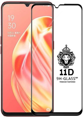 CRodible Edge To Edge Tempered Glass for OPPO F15(Pack of 1)
