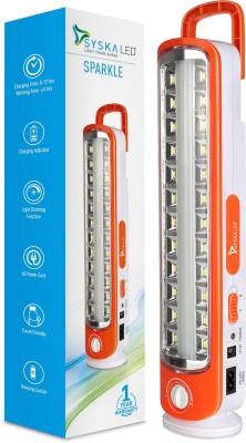 Syska SSK-EML-1230L SPARKLE Lantern Emergency Light (Orange)