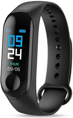 Ahira M3 Smart Fitness Activity Tracker Band(Black Strap, Size : Universal)