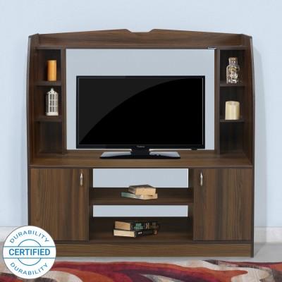 Nilkamal Beaumont Engineered Wood TV Entertainment Unit(Finish Color - Classic Walnut)