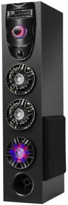 Drezel Rocking LED DJ Tower 70 W Bluetooth Tower Speaker(Black, 2.1 Channel)