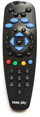 TATASKY TCO TATASKY SD/HD Set Top Box Remote Controller Black TATASKY Appliance Parts   Accessories