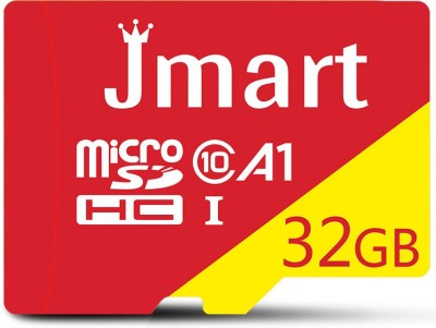 Jmart Ultra Premium 32 GB MicroSD Card Class 10 100 MB/s Memory Card(With Adapter)