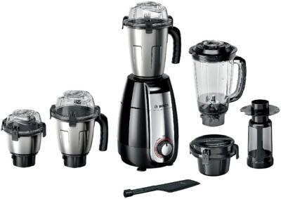 Bosch PRO MGM8842 1000 Juicer Mixer Grinder(Black, 4 Jars)