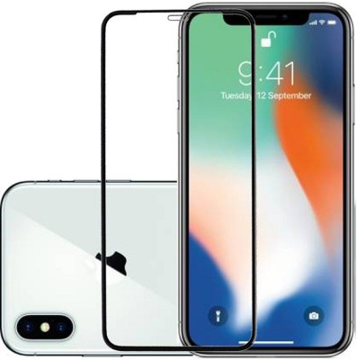 KARTRAY Edge To Edge Tempered Glass for Apple iPhone X, Apple iPhone XS, Apple iPhone 11 Pro(Pack of 1)