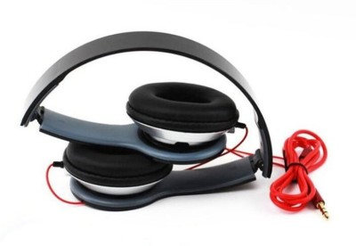 GEMINOLOGY Top Selling Latest Design Stylish Stereo On-Ear Sound Headphone Wired Headset(Black, On the Ear)