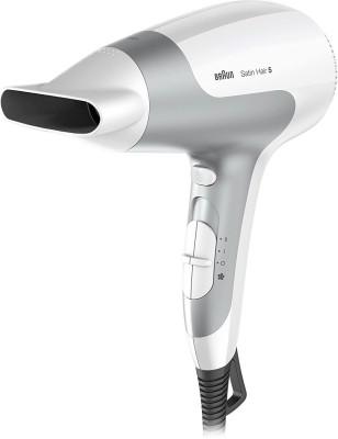 Braun HD 580 Hair Dryer(2500 W, (White/Grey))