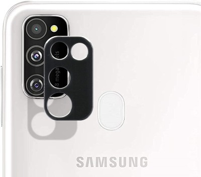 KHR Camera Lens Protector for Samsung Galaxy M30s Metallic Alloy Protective Ring for Samsung M30s Rear Camera Lens(Pack of 1)