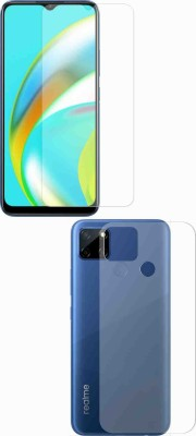 Fashion Way Front and Back Screen Guard for Realme Narzo 20, Realme Narzo 20A, Realme C11, Realme C12, Realme C15, Realme C3, Realme 5, Realme 5i, Realme 5s, Oppo A9 2020, Oppo A5 2020, Realme Narzo 10, Realme Narzo 10A, Oppo A31(Pack of 2)