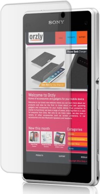 U-Verse Tempered Glass Guard for Sony Xperia Z1 (Transparent)(Pack of 1)