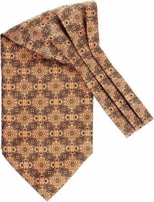 the tie hub Flowr Network Red Floral Cravat For Men By The Tie Hub Cravat(Pack of 1)