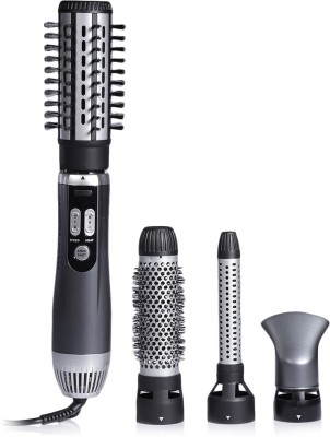 Carrera 535 Professional Hot Air Brush Styler for Women | Hot Hair Straightener, Curler for Volume with Styling Nozzles 535...