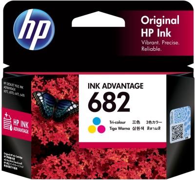HP 682 Tri Color Ink Cartridge HP Ink Cartridges