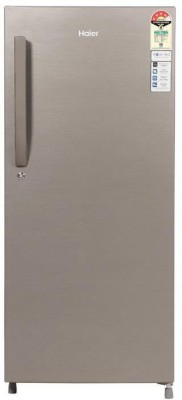 Haier 195 L Direct Cool Single Door 4 Star  2020  Refrigerator DAZZLE STEEL, HED 20CFDS Haier Refrigerators