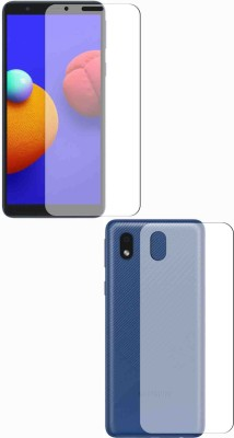 Fashion Way Front and Back Screen Guard for SAMSUNG GALAXY M01 CORE(Pack of 2)
