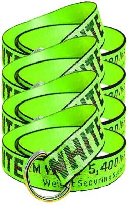 Sulit Men & Women Green Canvas Belt
