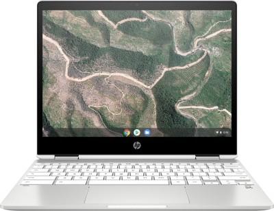 HP 12b Celeron Dual Core - (4 GB/Chrome OS) 12b-ca0010TU Chromebook(12 inch, Mineral Silver, 1.35 kg)
