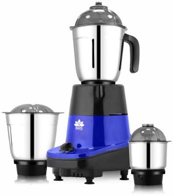 BMS Lifestyle JUICER I-20 500 Juicer Mixer Grinder(Blue, Black, 3 Jars)