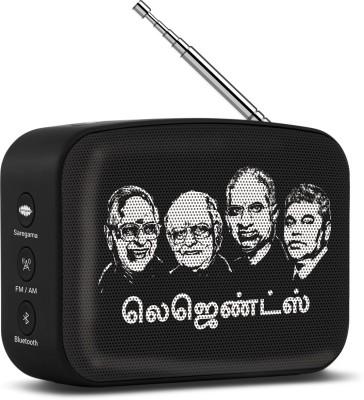 Saregama Carvaan Mini Tamil 5 W Bluetooth Speaker(Moonlight Black, Stereo Channel)
