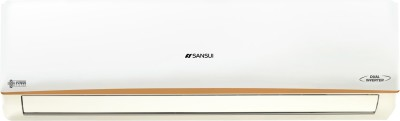Sansui Activated Carbon Filter 1.5 Ton 5 Star Split Dual Inverter AC with Wi-fi Connect  - White(SAC155SIASMART, Copper Condenser)