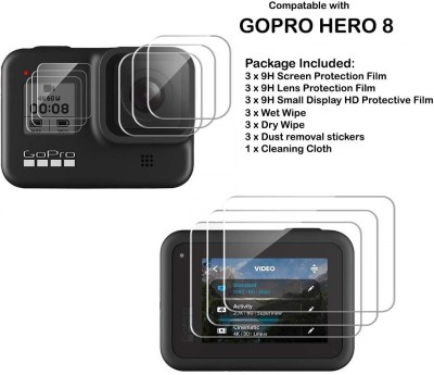 Action Pro Screen Guard for GoPro Hero 5 6 7(Pack of 9)