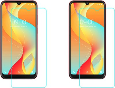 ACM Tempered Glass Guard for Lava Z66(Pack of 2)