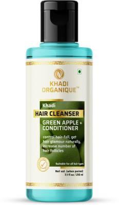 Khadi Organique GREEN APPLE CONDITIONER HAIR CLEANSER / SHAMPOO Men & Women 210 ml