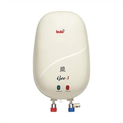 Indo 3 L Instant Water Geyser (G-3, ivory, White)