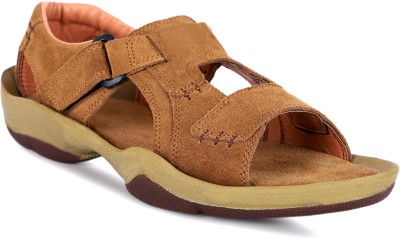 Four Star Men Brown Sandals