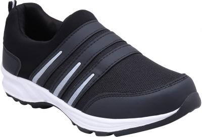 Smartwood Walking Shoes For Men Silver, Black Smartwood Casual Shoes