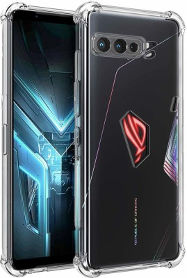 Cover Alive Back Cover for Asus ROG Phone 3(Transparent, Grip Case)
