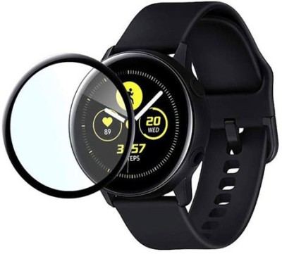 stylist sky Edge To Edge Tempered Glass for Samsung Galaxy Watch Active 2 44mm SmartWatch(Pack of 1)
