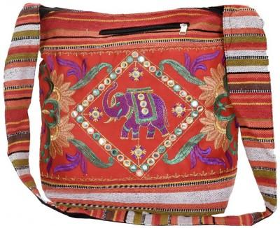 LeeRooy Red Shoulder Bag JHOLA101RED LeeRooy Sling Bags