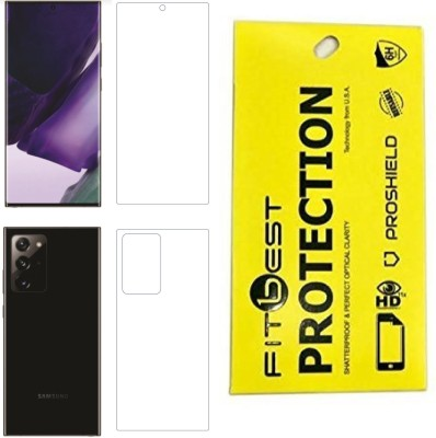 Fitbest Front and Back Screen Guard for Samsung Galaxy Note 20 Ultra(Pack of 2)