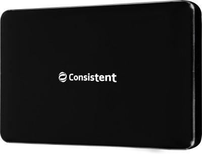 Consistent 500 GB External Hard Disk Drive(Black)