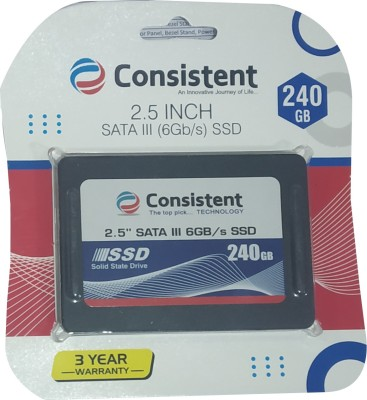 Consistent (CTSSD240S3) 240 GB Laptop, All in One PC's, Desktop Internal Solid State Drive (SSD 240GB)