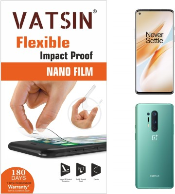 Vatsin Nano Glass for OnePlus 8 Pro(Pack of 2)